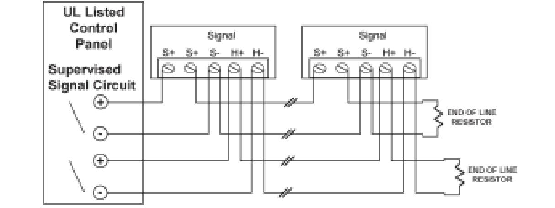 Ge3 Series With Gentex Synchronization Module Wiring Diagram